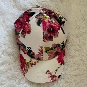 !!NEW!!Gorgeous OS floral baseball cap!!